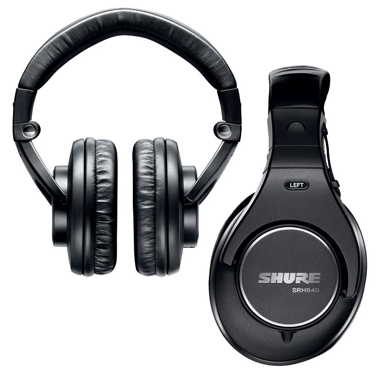 Shure SRH-840 and 940