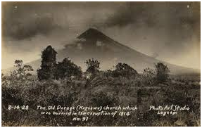 February 1, 1814 Mayon Volcanic Eruption