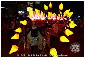 Bailes de Luces of La Castellana, Negros Occidental