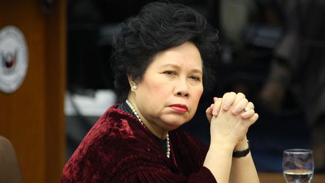 Miriam Defensor Santiago - victim's mother www.rappler.com