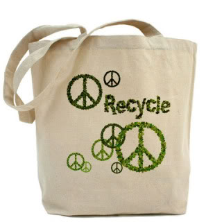 Reuse and recycle, be an environmentalist