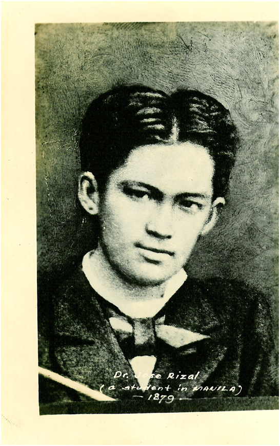Jose Rizal showed signs of a genius at an early age.