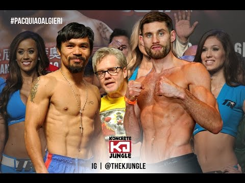 Algieri is taller and has a lot of advantages Tale of the Tape-wise over Manny Pacquiao.