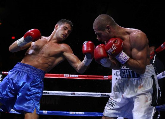 Algieri was a successful professional kickboxer before getting into boxing.