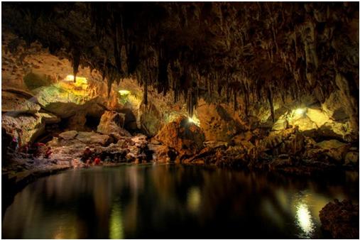Hinagdanan Caves