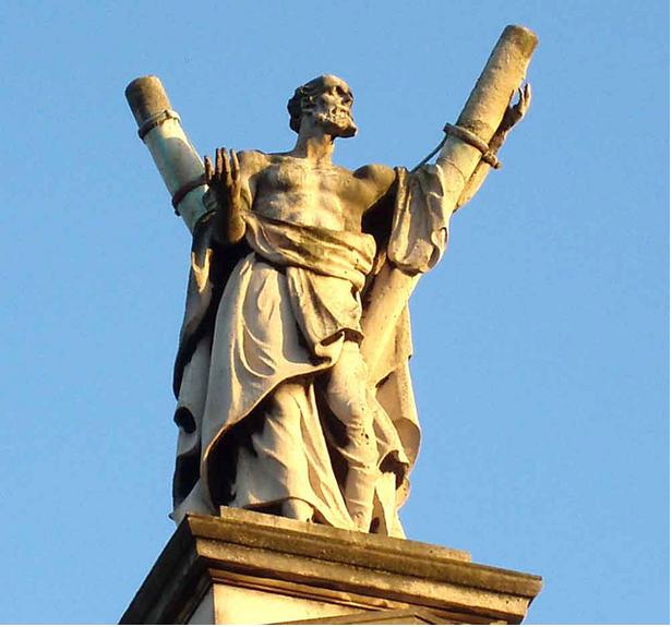 Andres Bonifacio was named after a saint.