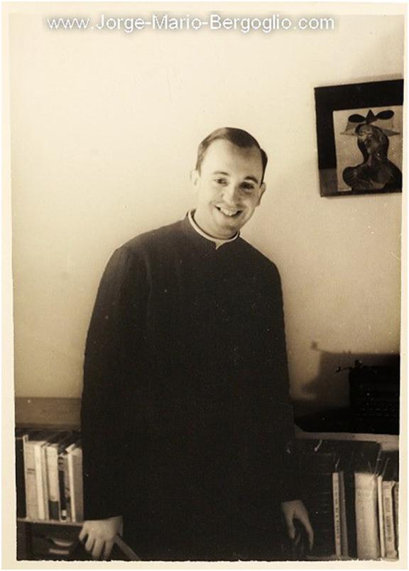 His real name is Jorge Mario Bergoglio