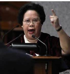 Senator Miriam Defensor Santiago
