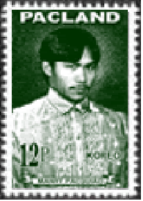 Pacquiao is the first Pinoy athlete to appear on a postage stamp.