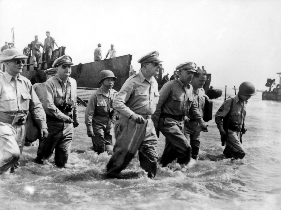 MacArthur was Unable to Liberate the Philippines