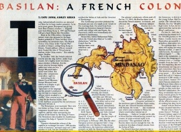 The French Bought Basilan