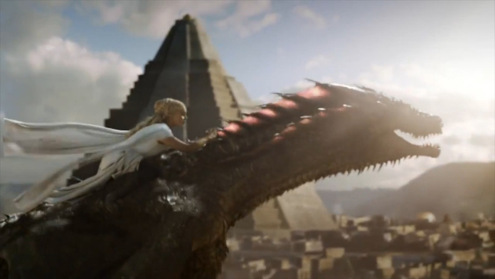 Dany Training her Drogon. Get It