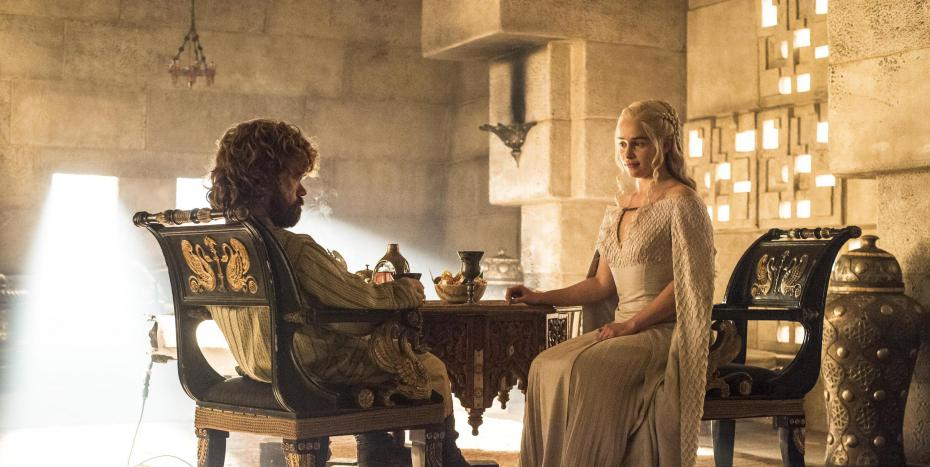 Tyrion and Dany Meet!