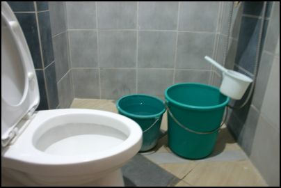 Use the Old Pail and Bucket