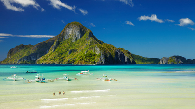 Philippines is made up of quiet and beautiful islands and beaches.