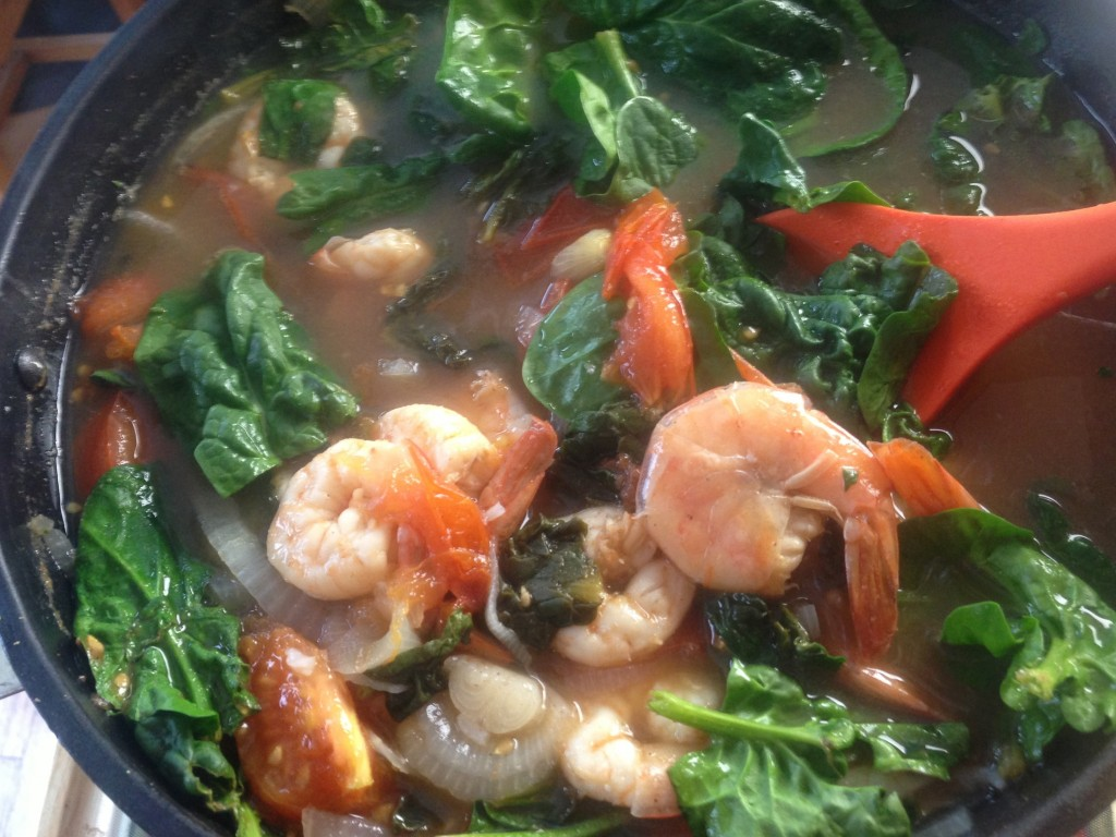 tangy seafood soup sinigang