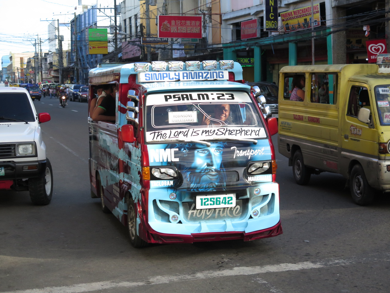 Jeepneys and Multicabs