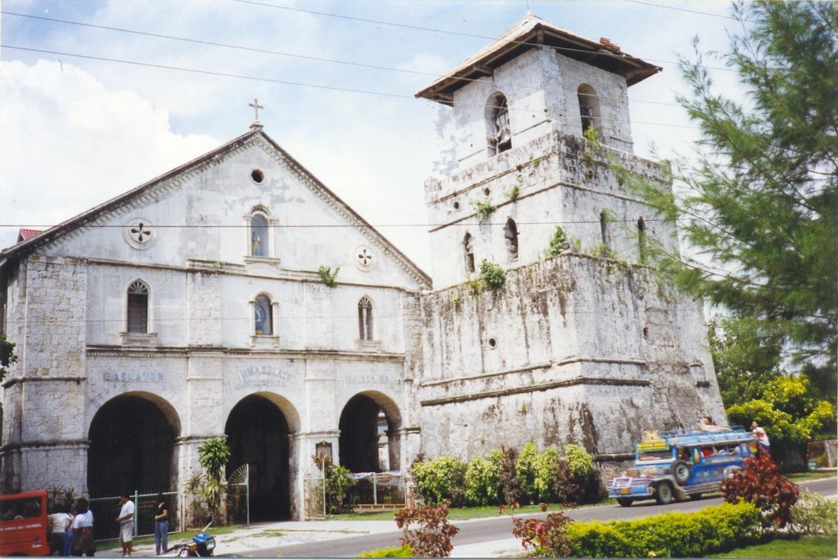 Baclayon Church in Boho