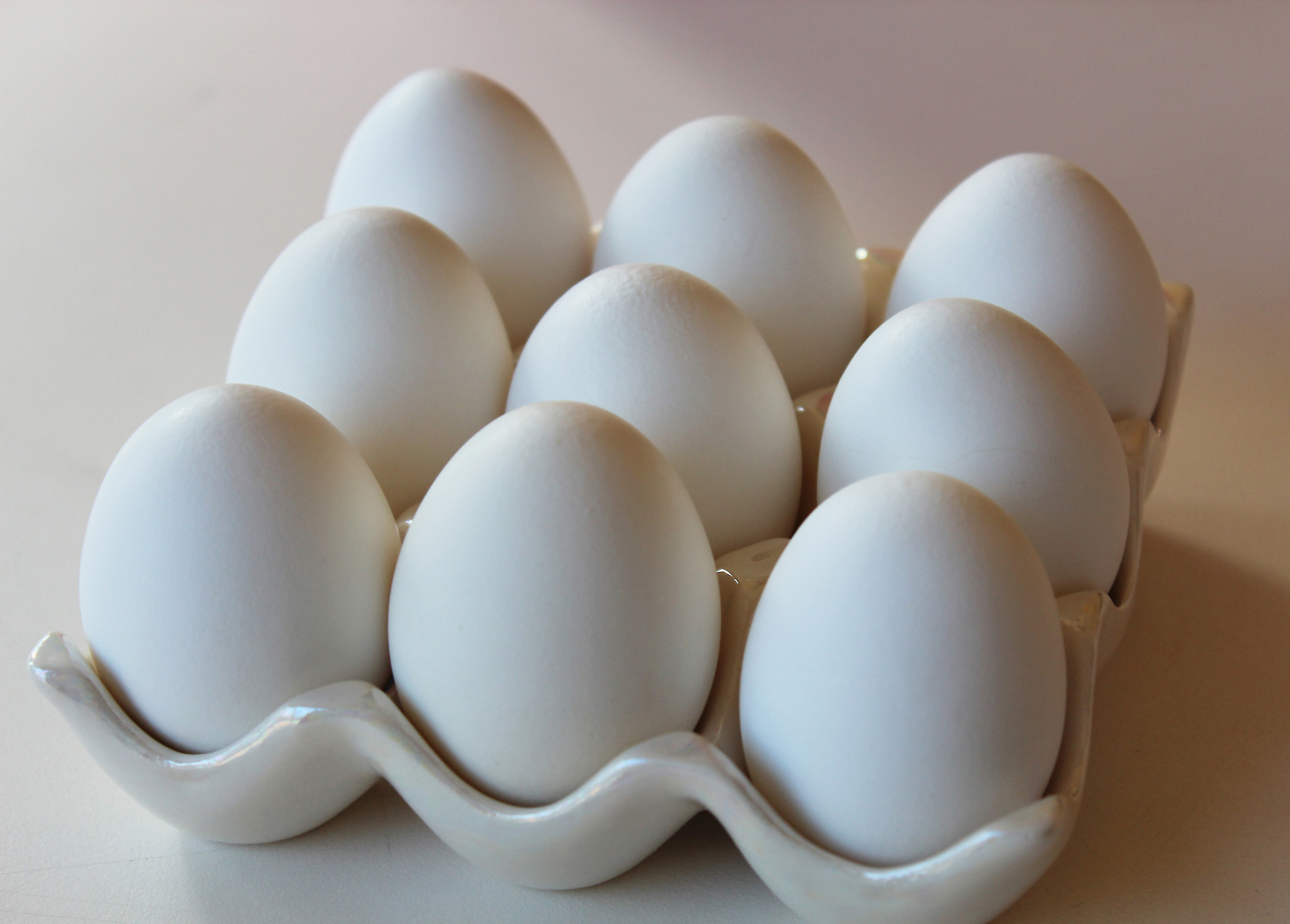 hard-cooked eggs -- There are many ways to hard-cook eggs.