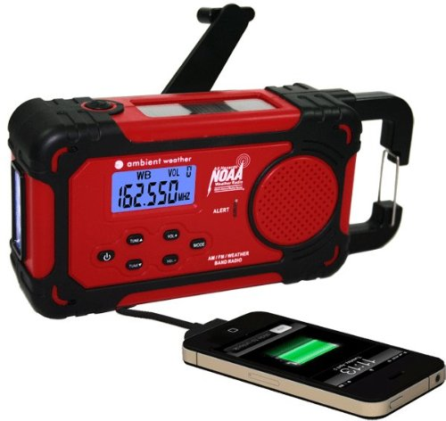 Solar or Crank Radio or Charger