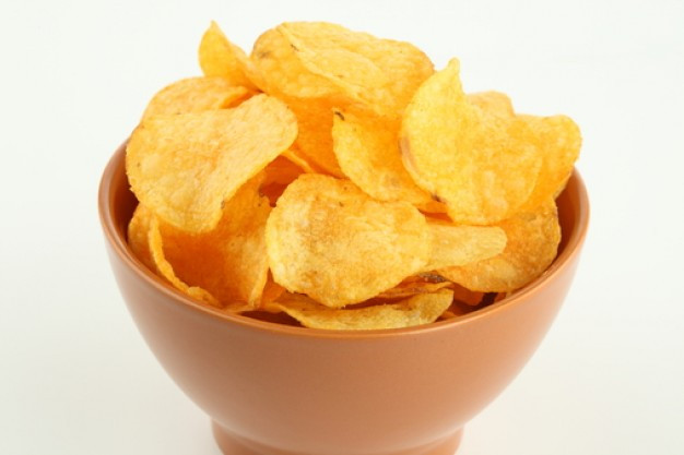Chips and Salty Junk Food