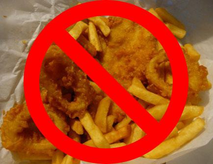 No Fried Foods Diet