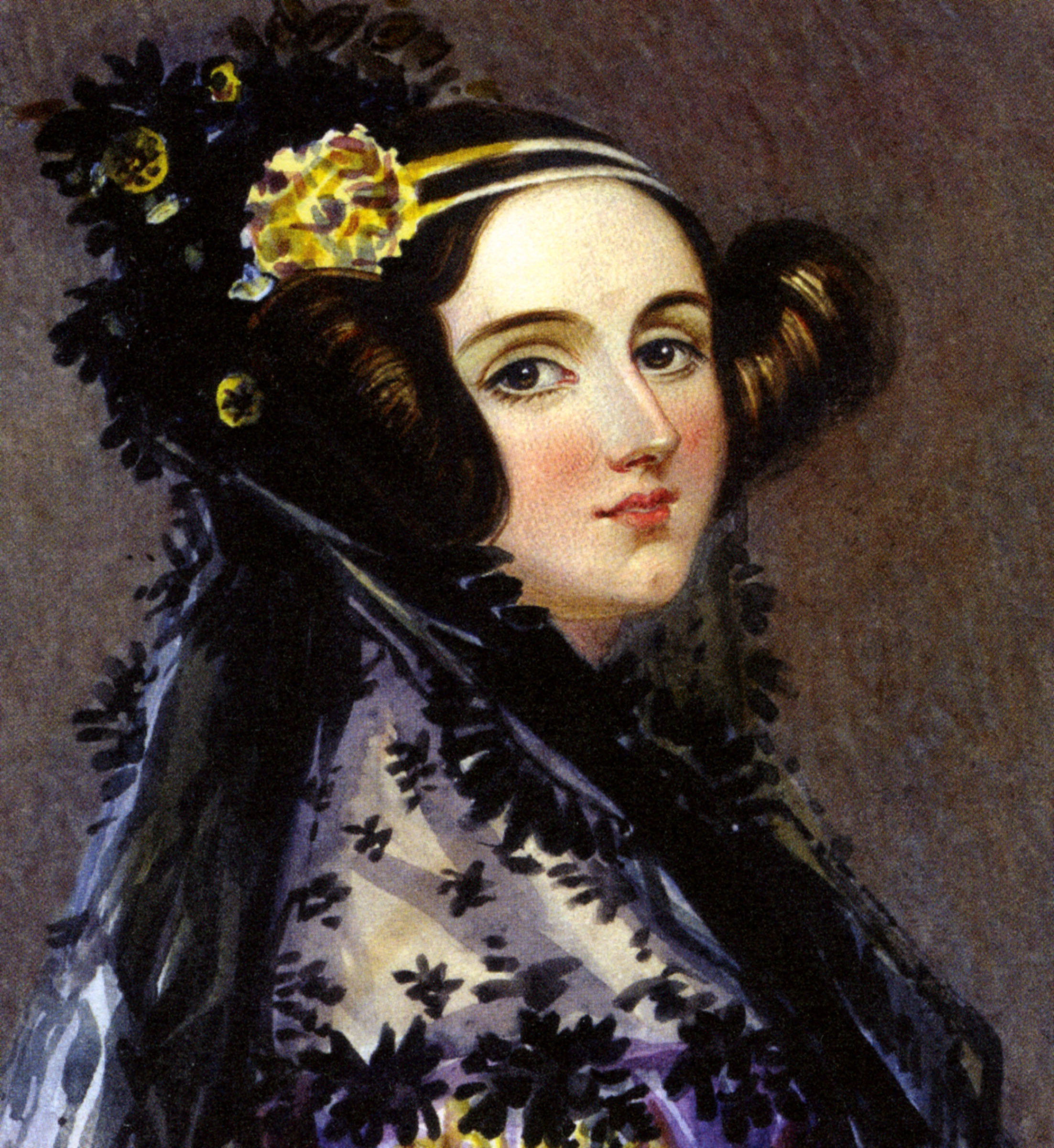 Ada Lovelace, English writer and mathematician (1815-1852) daughter of Lord Byron and friend of Charles Babbage. BJ5F25 ADA LOVELACE -