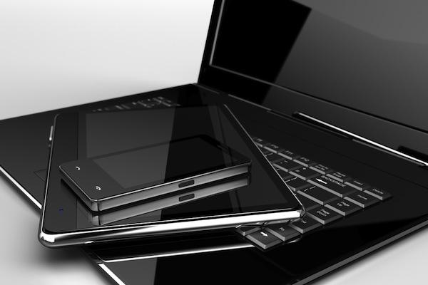 Smartphone, Notebook or Laptop